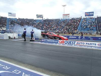 Nitro Funny Car Burnouts