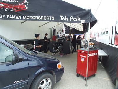 Nitro Funny Car Pits