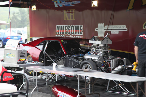 Pits and Staging Lanes